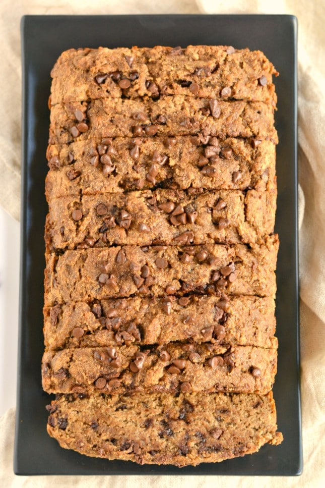 This Ultimate Healthy Chocolate Chip Banana Bread is a chocolate lovers dream! Made with wholesome ingredients and with zero added sugar or oil, this gluten and dairy free banana bread is the ultimate sweet treat!