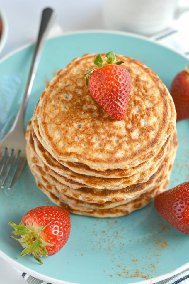 Cottage Cheese Pancakes - Skinny Fitalicious