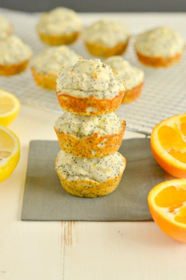 Lemon Orange Poppyseed Muffins