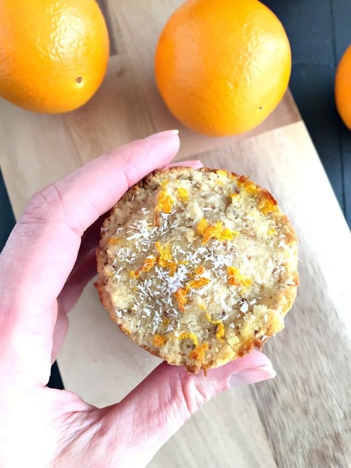 Orange Almond Muffins