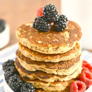 Perfect Paleo Coconut Pancakes