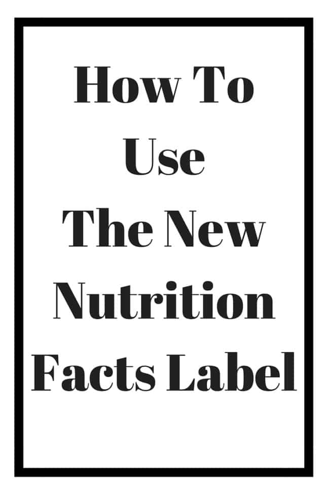 Find out how to read the new nutrition facts label on food approved by the FDA in May 2016.