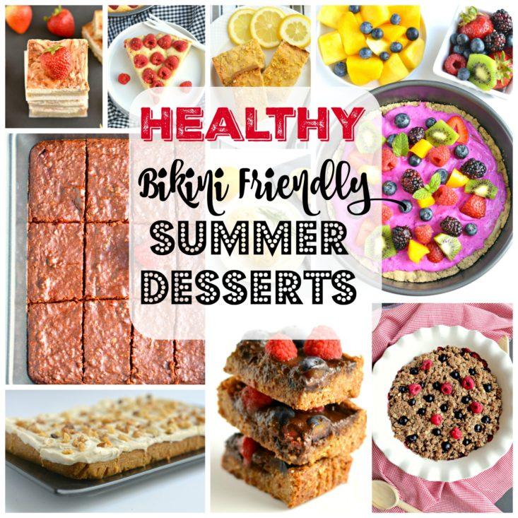 Bikini Friendly Healthy Summer Desserts