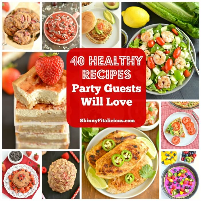 40 Healthy Recipes So Good They're Sure To Fool Party Guests