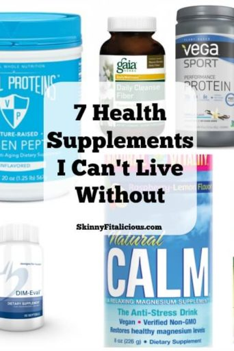 Health Supplements I Can't Live Without