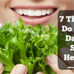 7 Things I Do Every Day To Stay Healthy