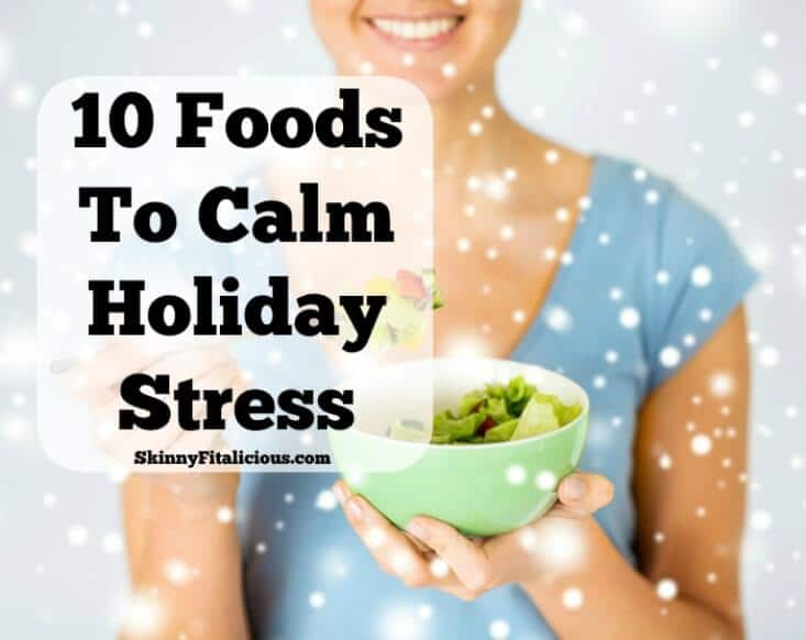 Holidays holidays holidays! They bring so much excitement, yet somehow they bring a wealth of panic, dismay and stress. With emotions higher than normal, and family minefields to navigate, it's no wonder we reach for the cookie jar to get through the holidays! Instead of using food as a coping mechanism, honor your body by supporting your emotions in a healthy way with these 10 Foods To Calm Holiday Stress.