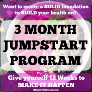 3 Month Jumpstart Health Coaching Program