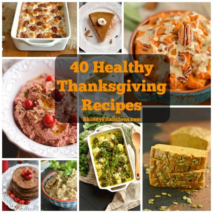 Make Thanksgiving delicious with these comforting and Healthy Thanksgiving Recipes that are sure to make your dinner guests love healthy food!