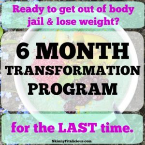 6 Month Transformation Health Coaching Program