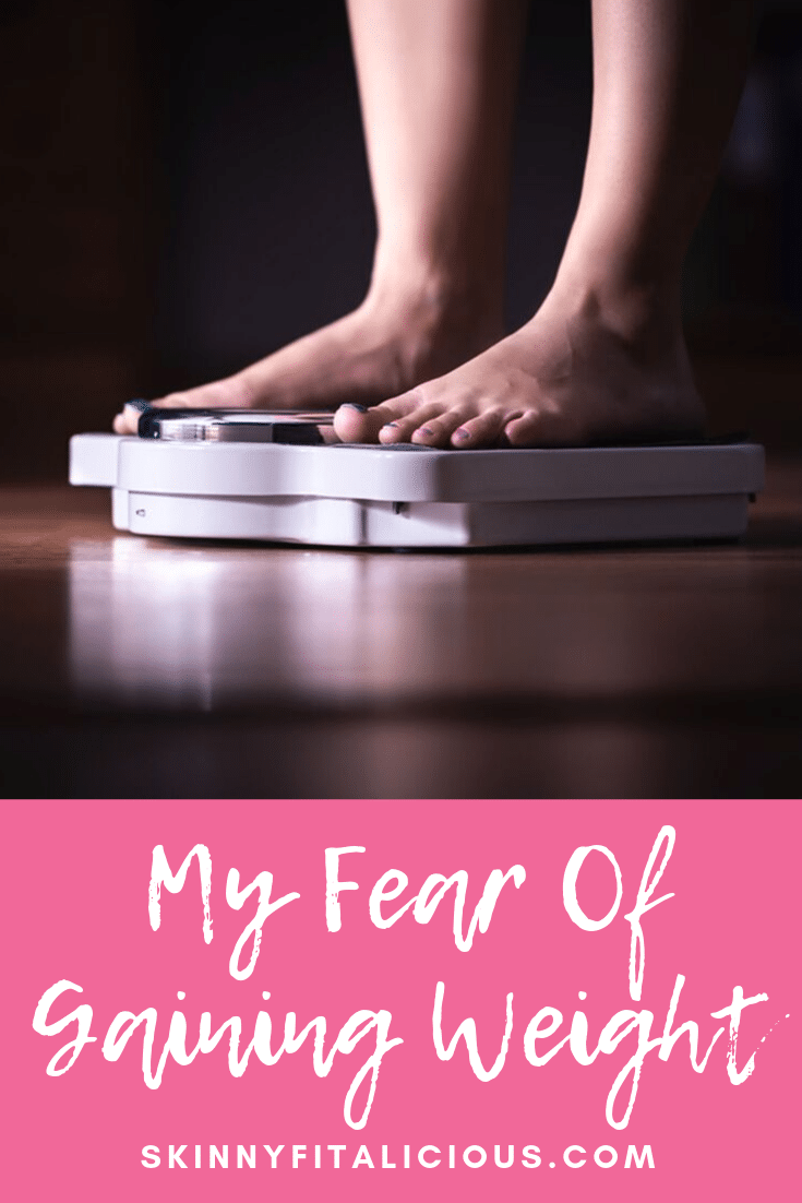 Every day my fear of gaining weight consumes me. After losing 80 pounds, I've figured out how to be live beyond the scale & stop obsessing over my weight.