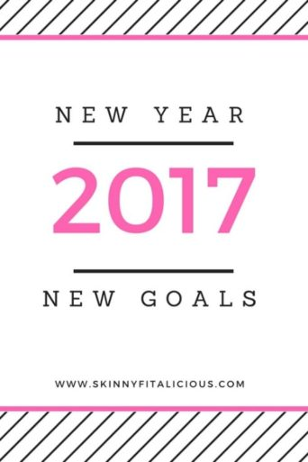 2017 New Year New Goals