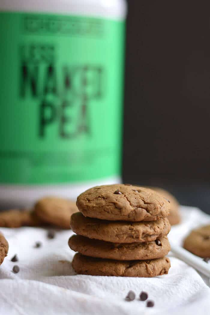 Chocolate Peanut Butter Protein Cookies Gf Low Cal Vegan