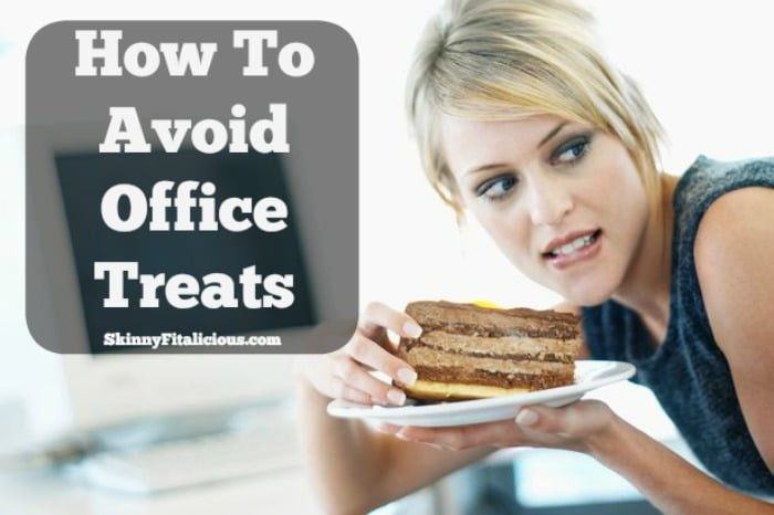 Avoiding the office snack bar is inevitable, which is why you need to learn how to avoid office treats when faced with temptation. This one tip will help!
