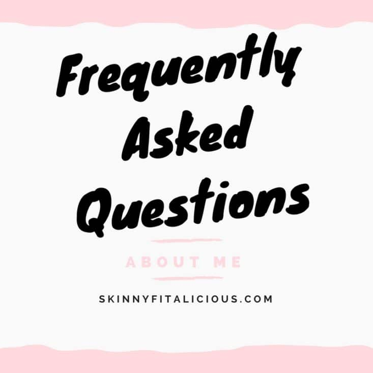 I receive a lot of questions from readers. Here I'm compiling a list of Frequently Asked Questions About Me so you can get all your answers in one place!