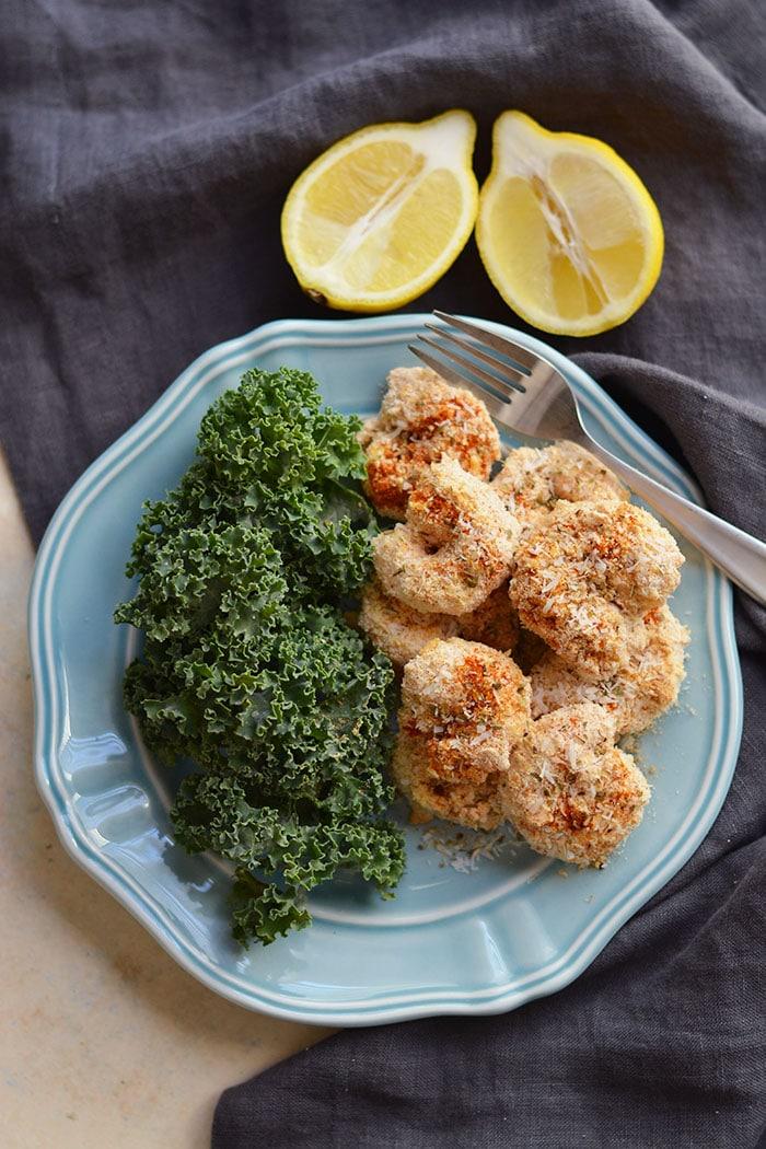 One Pan Baked Coconut Shrimp {GF, Low Calorie, Paleo ...