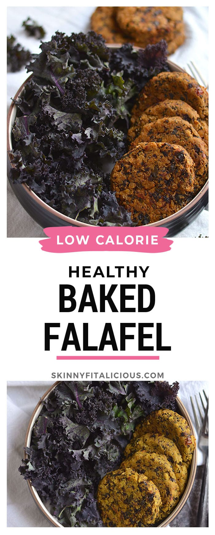 This Kale Sundried Tomato Falafel made with hearty, comforting and wholesome ingredients is a quick and easy Mediterranean style meal. A warm, soul filling food perfect on a cold day. Gluten Free + Low Calorie + Vegan