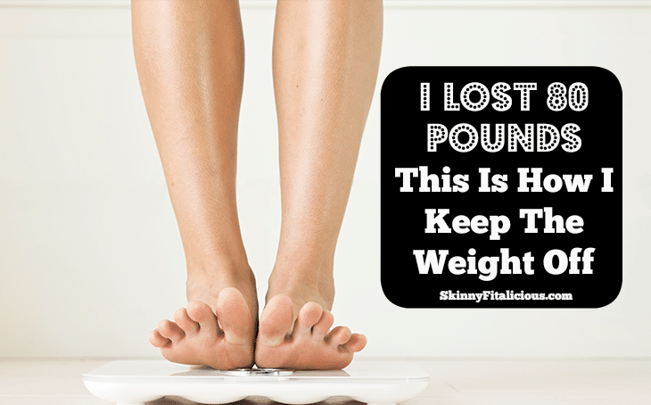 Seven years ago I lost 80 pounds. Most people who lose a lot of weight gain it back, but I have managed to keep it off. This is how I keep the weight off.