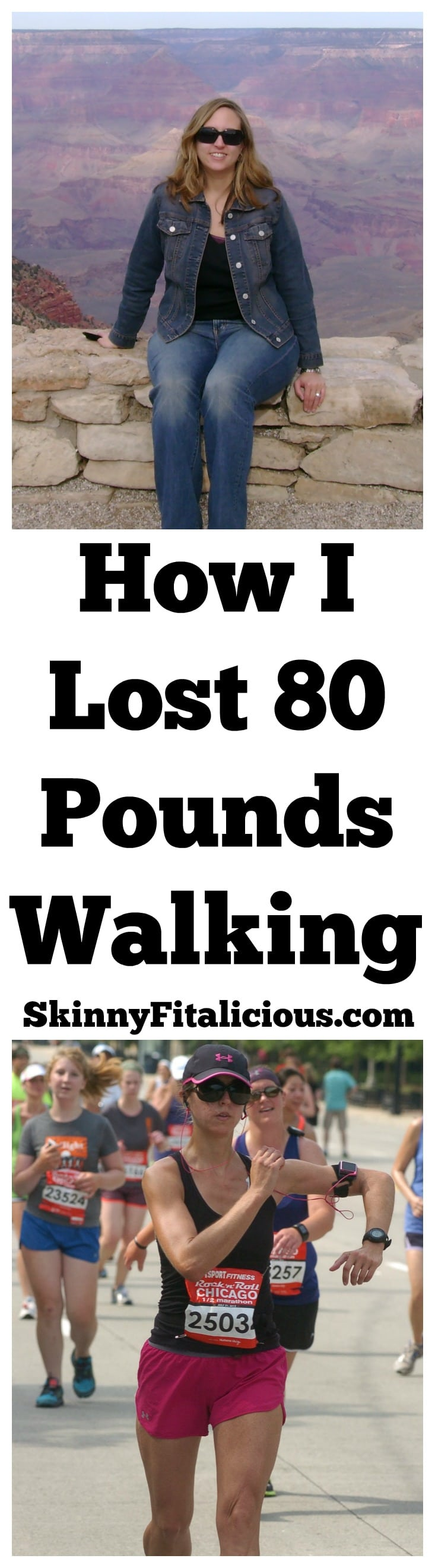 Walking For Weight Loss How I Lost 80 Pounds Walking Skinny