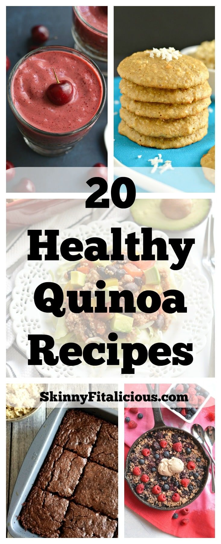 From sweet to savory, these 20 Healthy Quinoa Recipes will show you how delicious and EASY quinoa can be to add to your meals and snacks.