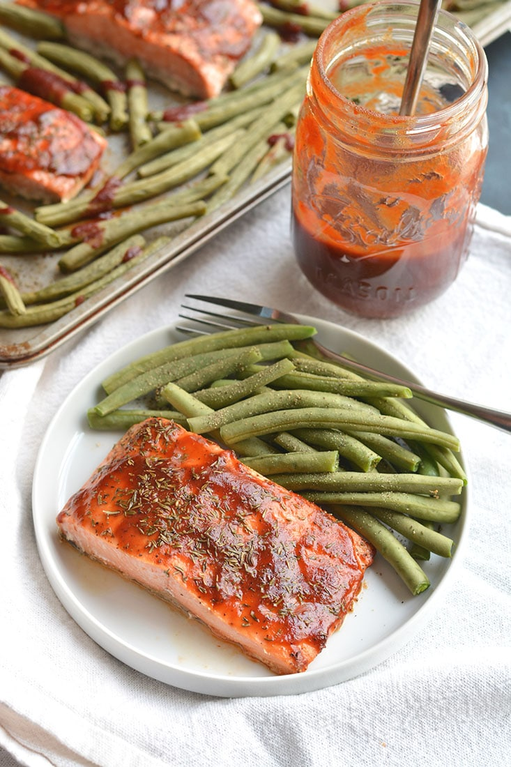 Low Sugar Bbq Salmon
