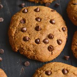 Paleo Sweet Potato Chocolate Chip Cookies {Paleo, GF, Low Cal}