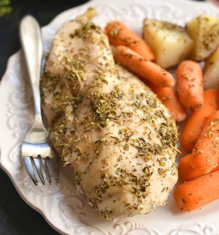 Crockpot Italian Chicken & Potatoes