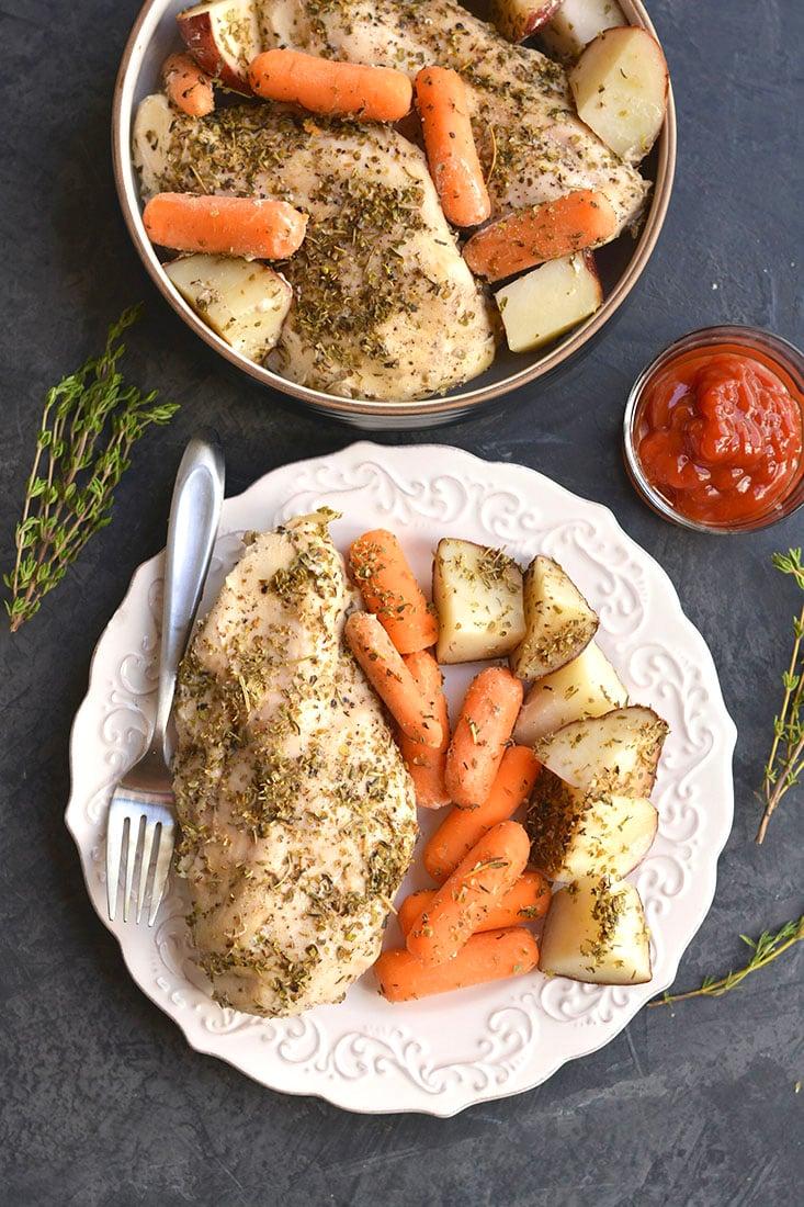 crock pot recipes chicken breast potatoes carrots