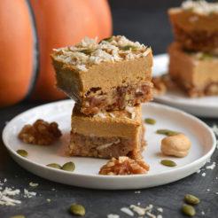 Raw Pumpkin Pie {GF, Paleo, Vegan}