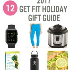This 2017 Get Fit Holiday Gift Guide is perfect for anyone who wants to kick off the new year with a new healthy goal and lose weight!