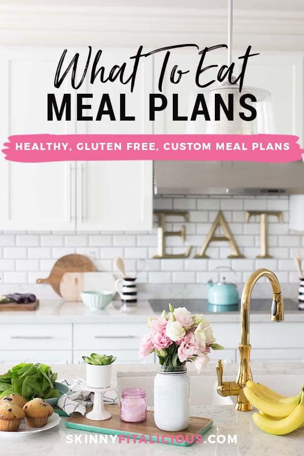 Get a healthy, Custom Meal Plan by a certified nutrition practitioner designed to fit your individual activity level, health conditions & food preferences.