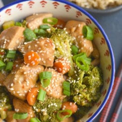 Crockpot Mongolian Chicken {GF, Low Cal}