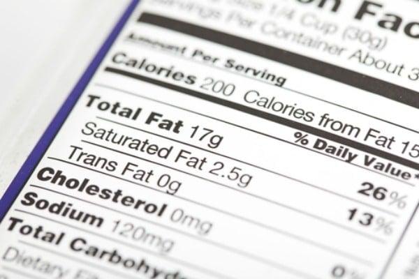calorie-food-label