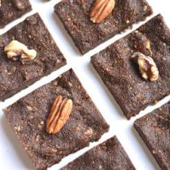 No Bake Immune Boosting Date Brownies {Member, Vegan, Paleo, GF}