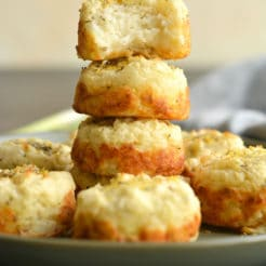 Mashed Potato Muffins {GF, Low Cal}