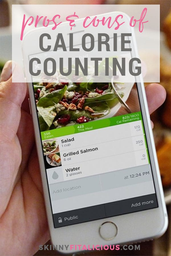 Calories are more than a number. Counting calories is good weight management tool when done properly with the right amount of calories and balanced with the right macronutrients. Here are the pros and cons of calorie counting you should consider when calorie counting for weight loss, fitness or overall health.