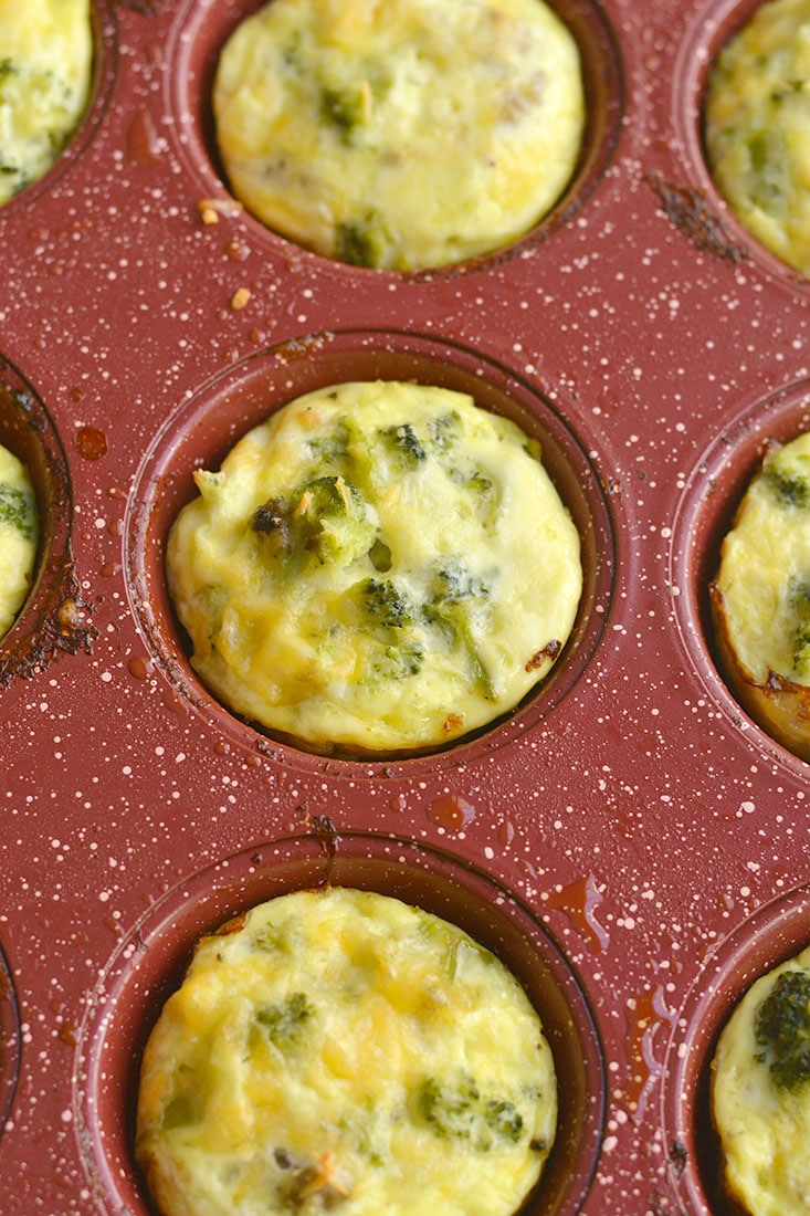 Muffins with cheese and sausage. Delicious and hearty cupcake in minutes