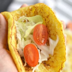 Cauliflower Tortillas {Paleo, GF, Low Calorie}