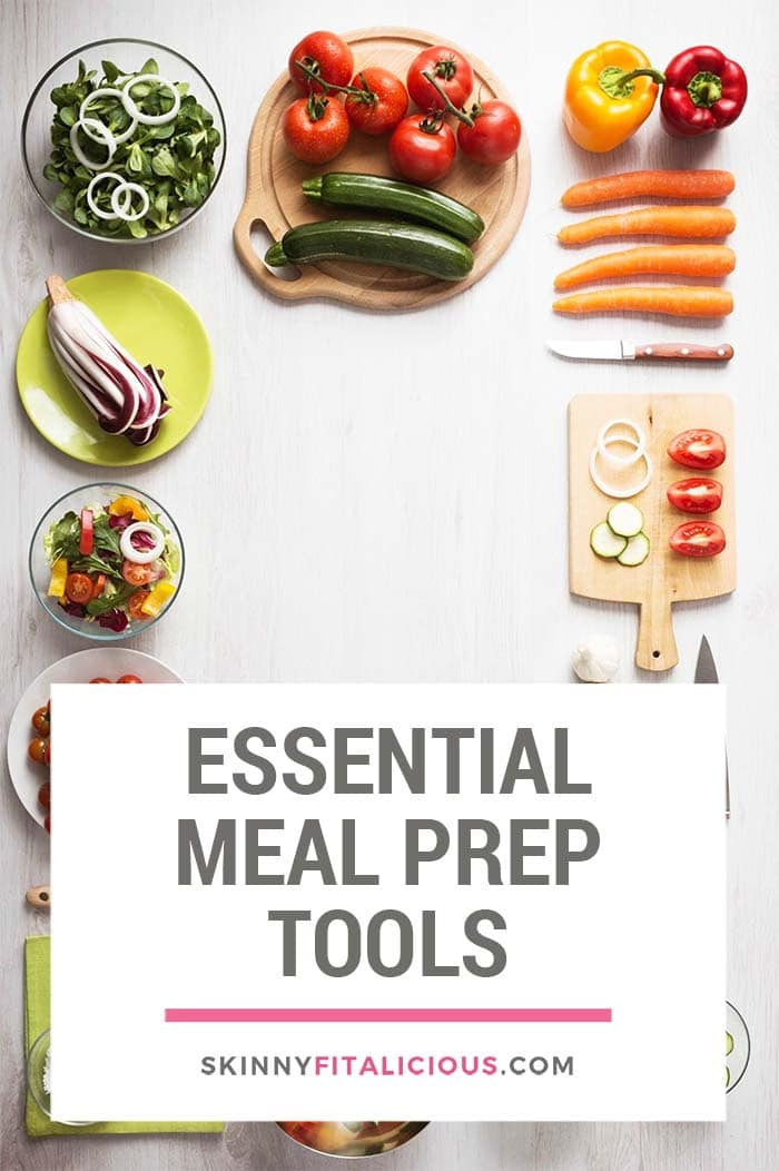 No mater if you are a beginner or advanced healthy eater, everyone needs meal prep tools to make healthy eating easy and convenient. Whether it's a smoothie, sheet pan, one skillet, egg muffins, or a casserole recipe, you are meal prepping These are the essential meal prep tools you need for weight loss.