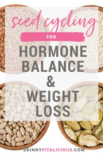 Seed cycling for hormone balance and weight loss can be a powerful tool in regaining your health. Hormones are a critical piece of weight management and of those with amenorrhea. Not only do hormones control your reproduction, but also your metabolism, thyroid, blood sugar and satiety.