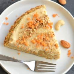Almond Flour Carrot Cake {Paleo, Vegan}