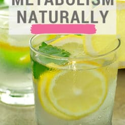 Metabolism is the process by which the body breaks down food for fuel. When your metabolism is slow your body is more likely to store food as fat. This can also be a sign of hormonal imbalances. These are many ways to boost metabolism naturally and train your body to utilize fat more efficiently.