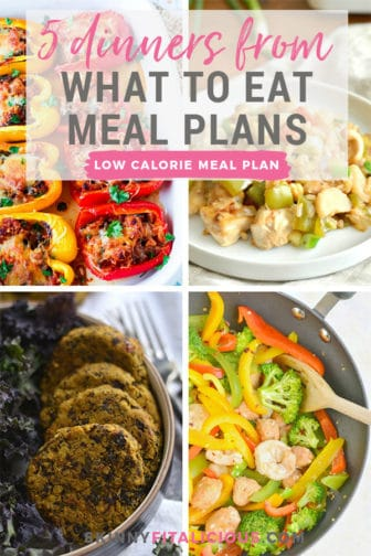Getting a healthy dinner on the table is a difficult task for some which is why I'm sharing 5 dinners from What To Eat Meal Plans today. What To Eat Meal Plans is a low calorie, gluten free meal plan with a minimum of 100 grams of protein. Nutritionally balanced with an online scheduler to plan your meals each week!