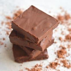 Collagen Fudge Brownies {Paleo, Low Carb, GF}