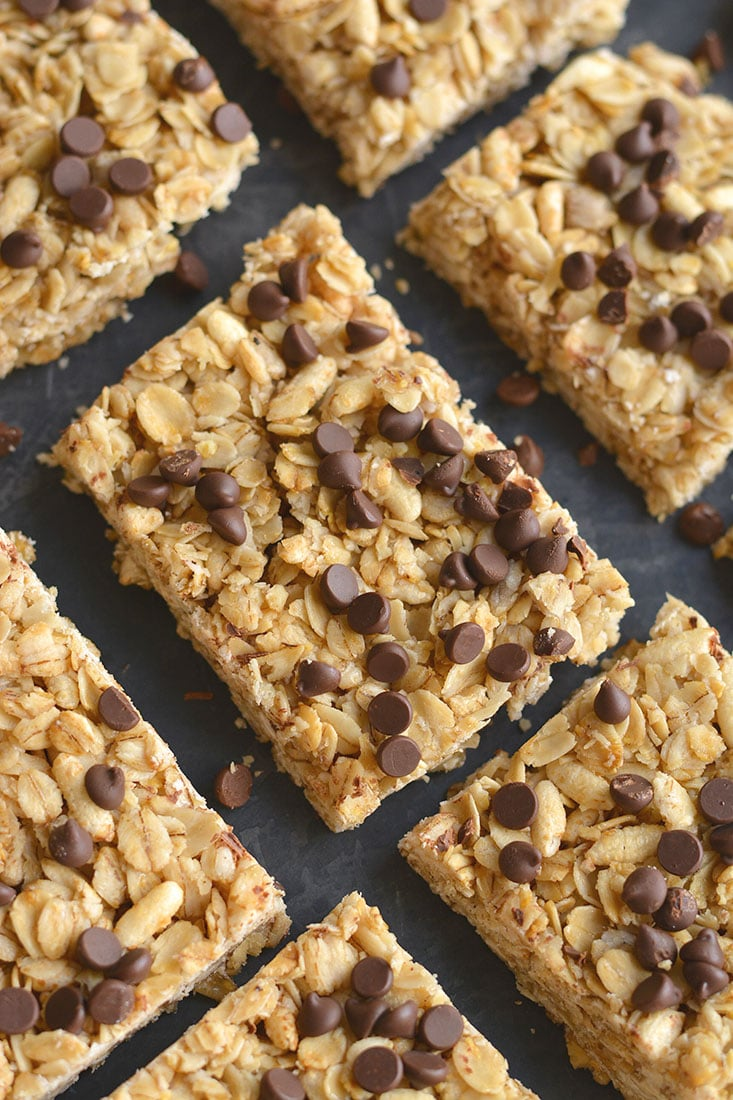 Low calorie chewy granola bar recipe