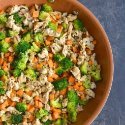 Turkey Sweet Potato Broccoli Hash {Paleo, Low Carb, GF}