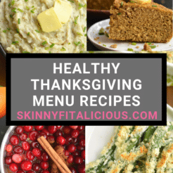 Healthy Thanksgiving Menu Recipes