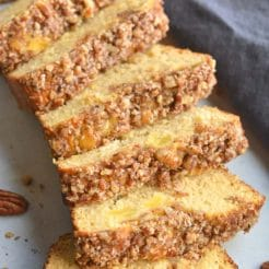 Healthy Coconut Pineapple Bread {Paleo, GF}
