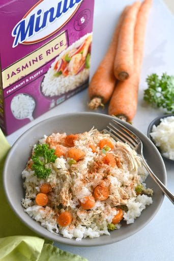 Instant Pot Cajun Chicken & Rice {GF, Low Cal}