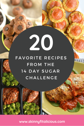 Favorite Recipes from the January 14 Day Sugar Challenge